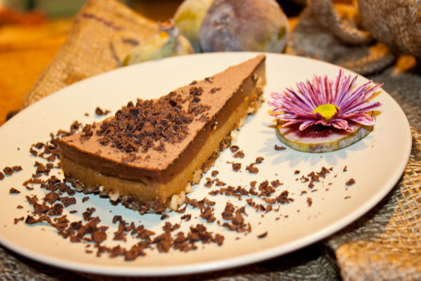 Fíkovo-čokoládový raw dort