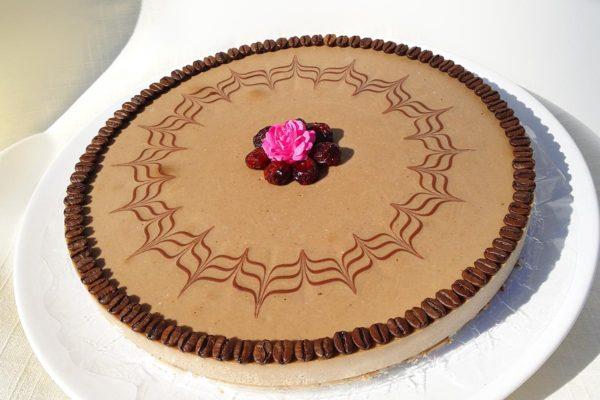 Kávový Mocca dort