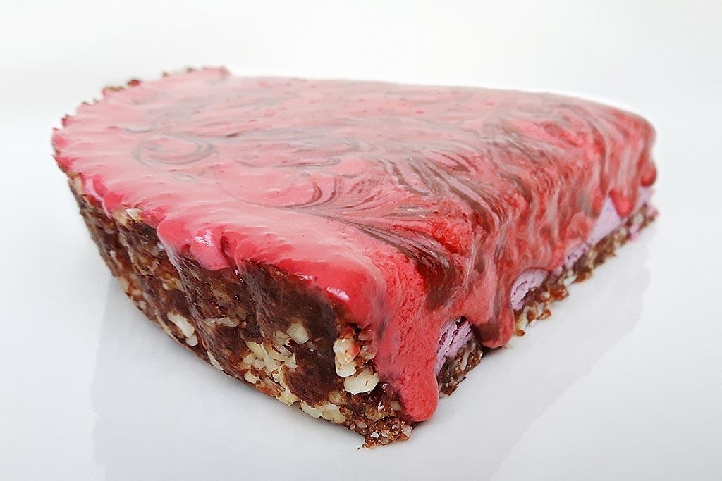 Kurz - Raw strava - raw jahodový dezert