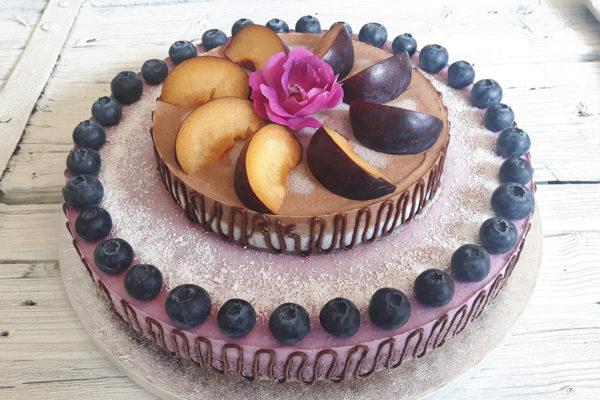 Patrový raw dort XII.